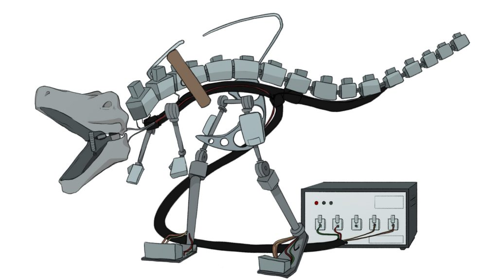 Dinosaur Input Device