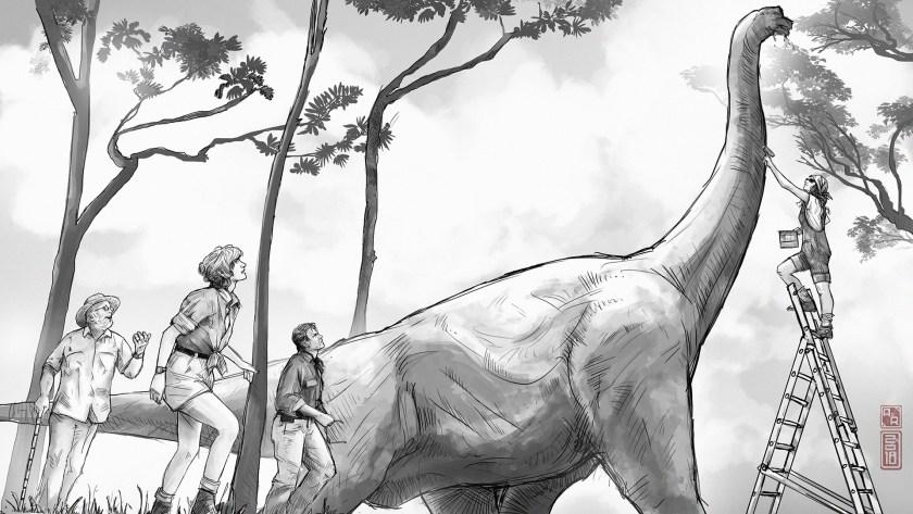 Viewpaint: ILM's secret weapon on 'Jurassic Park'