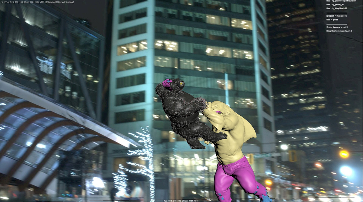 shirk vs gorilla vfx