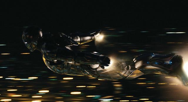 Iron Man driving shot