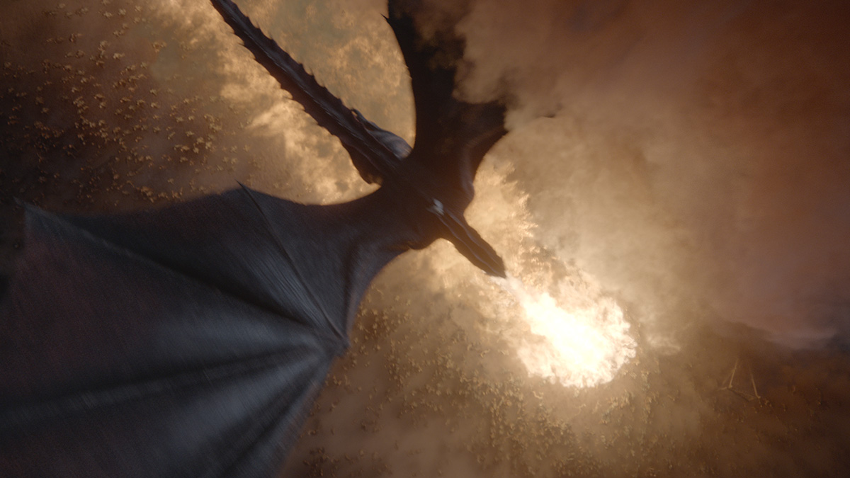How Melisandre lit up those Dothraki swords