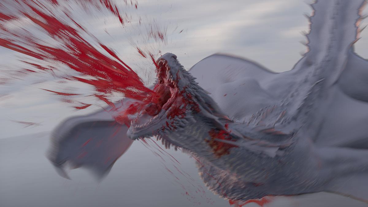 Creatures: the death of Rhaegal