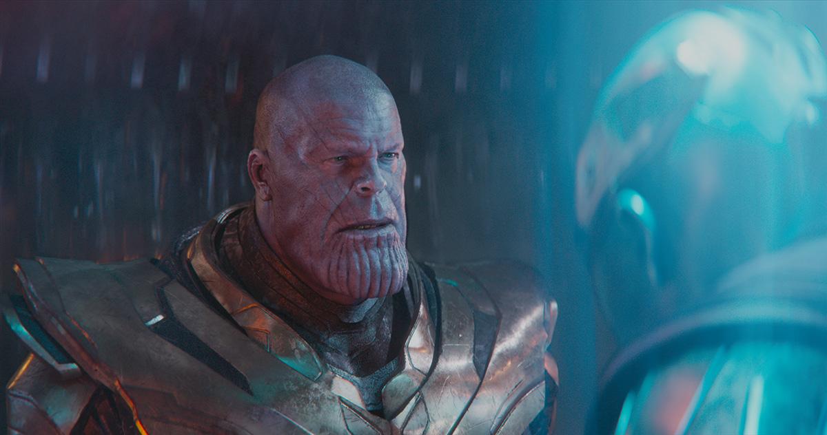 Digital Domain's Thanos from 'Endgame