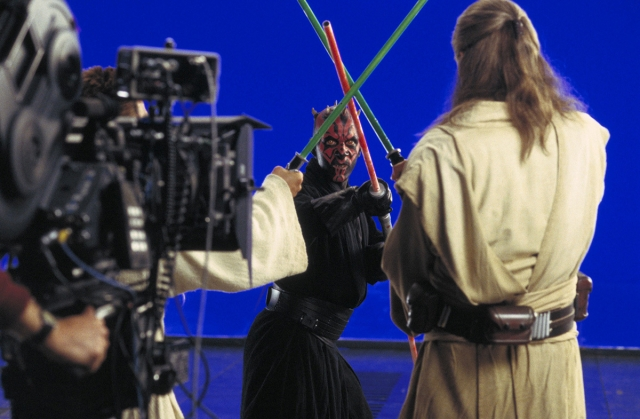 The Phantom Menace shooting