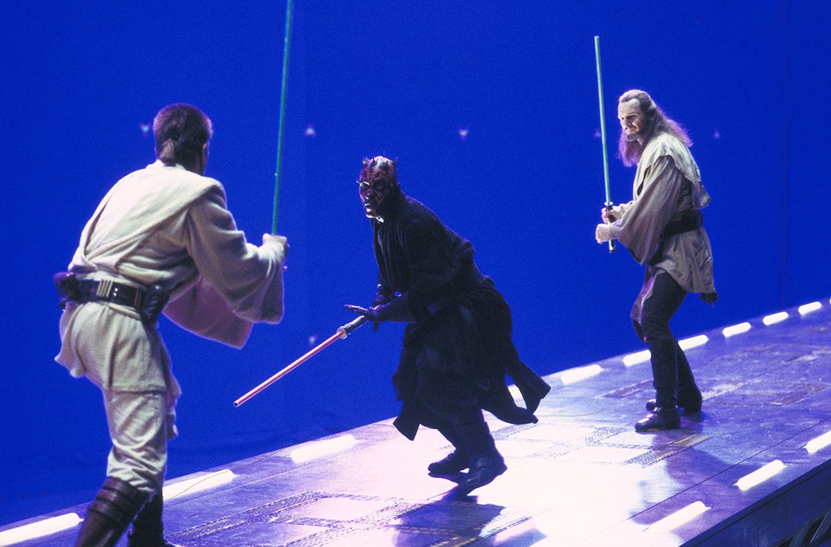The Darth Maul duel