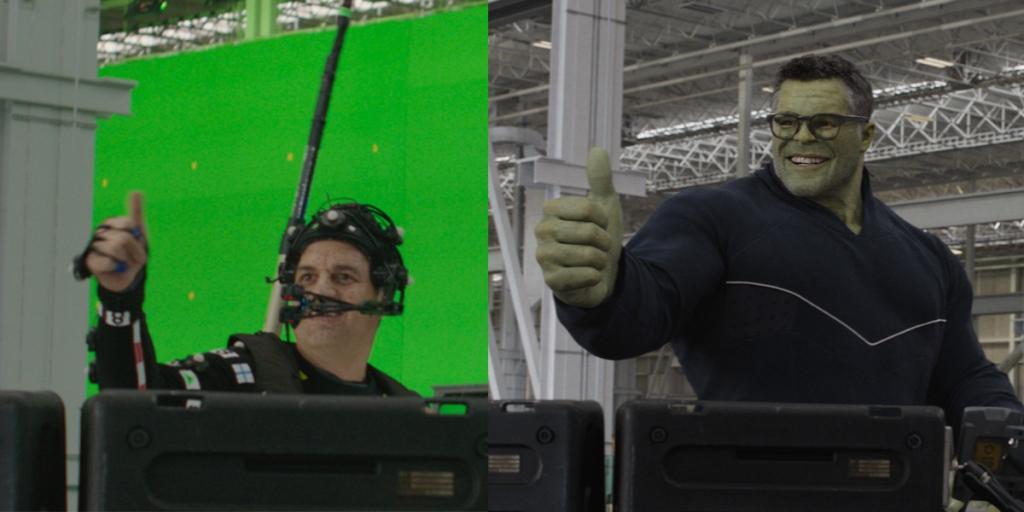 Behind Smart Hulk
