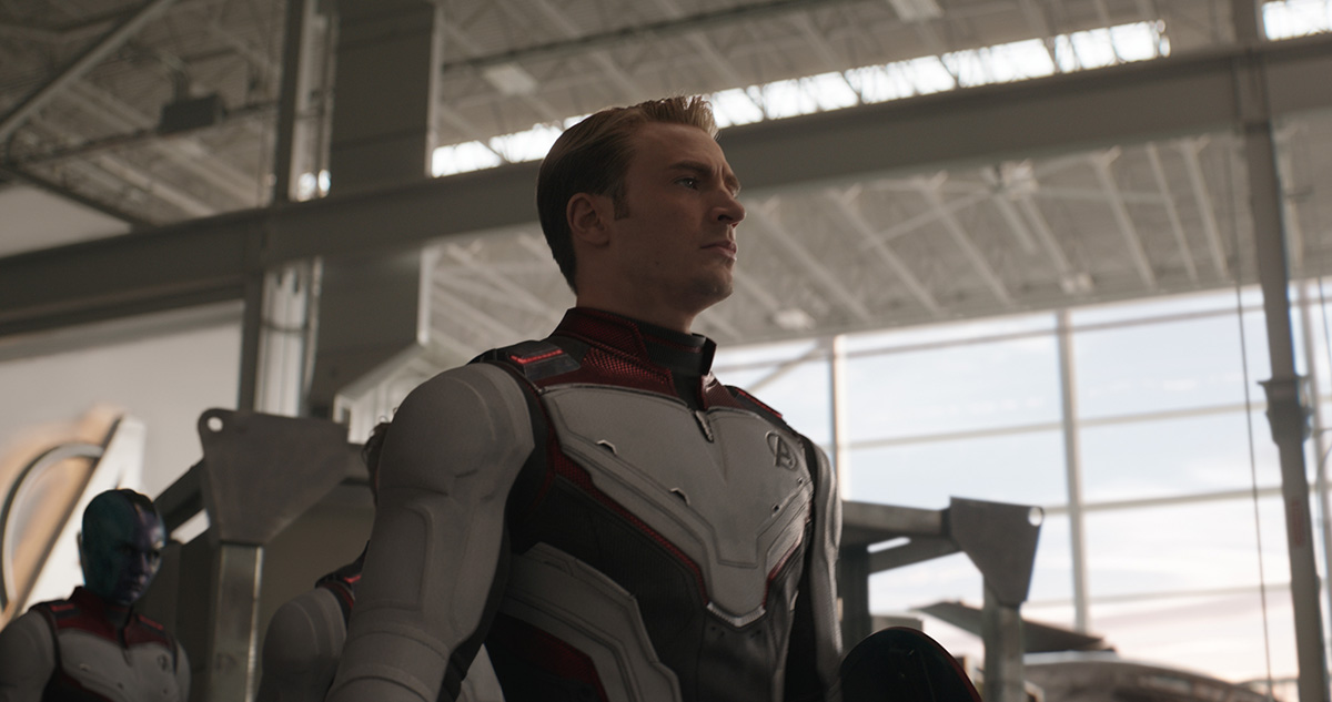 Captain Time suits in 'Endgame'