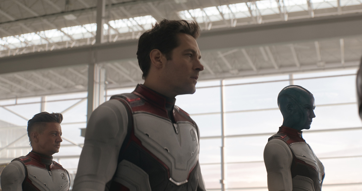 Time suits in 'Endgame'
