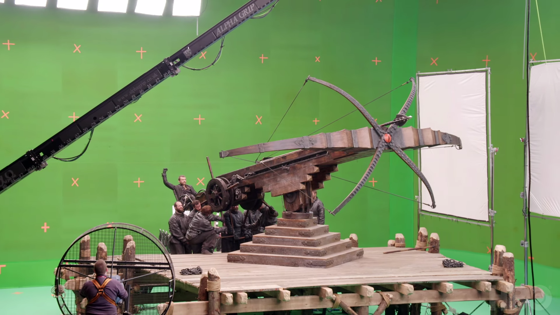 More behind the scenes from 'Game of Thrones'