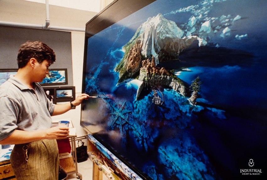 Matte artist Yusei Uesugi