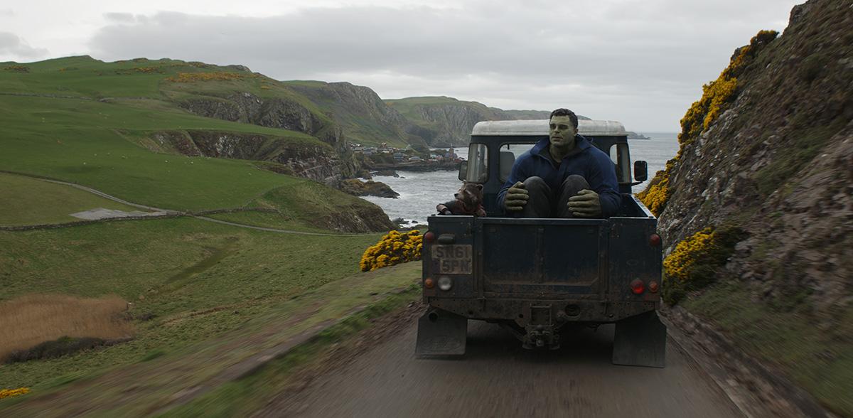Hulk on Car final shot