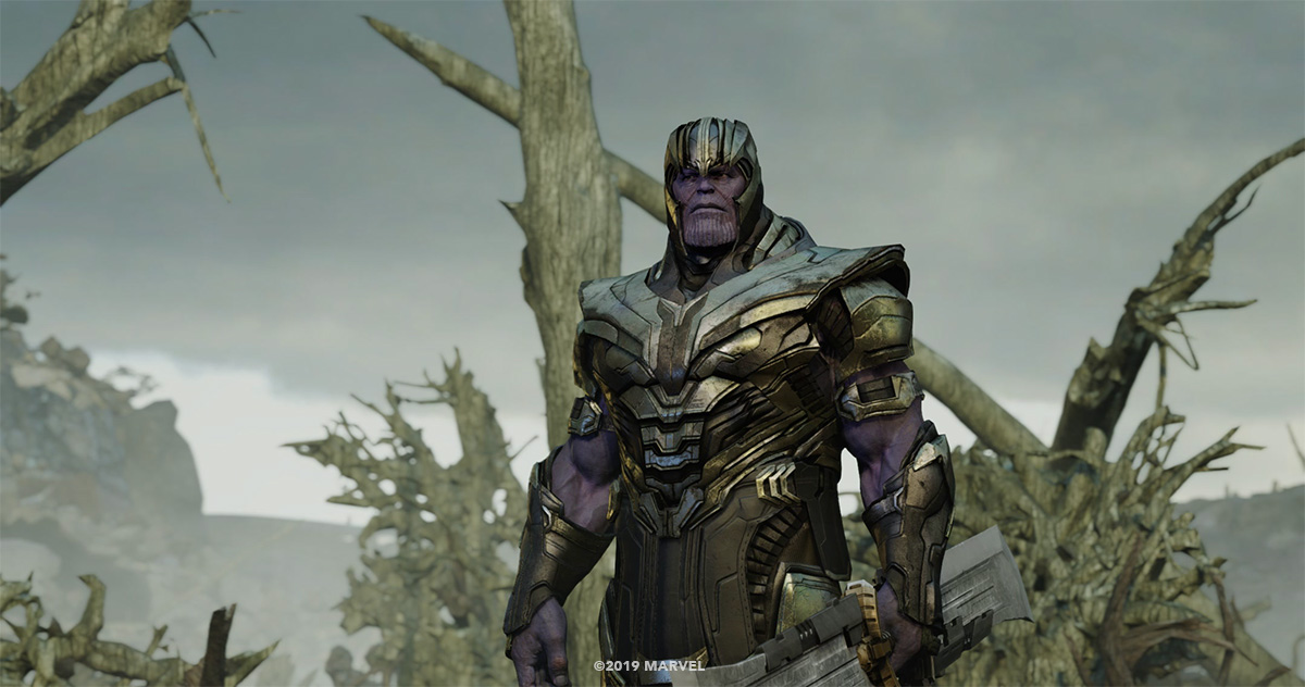 Weta Digital's CG Thanos.