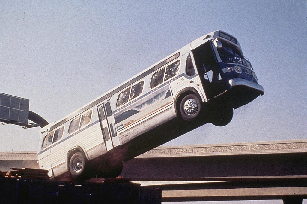 Jumping bus on Speed