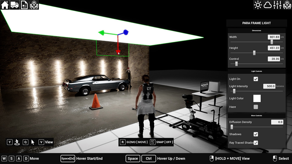 Cine Tracer: the game that's also a tool for real-time cinematography simulation
