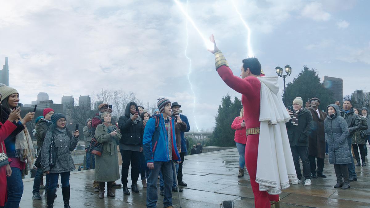 Shazam lighting hand pic