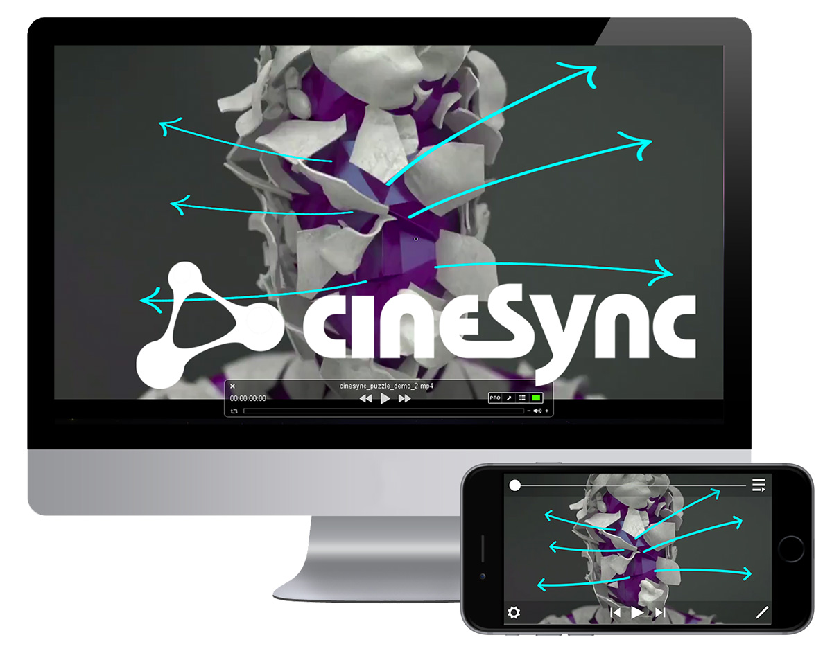 Demo Cospective's cineSync for free