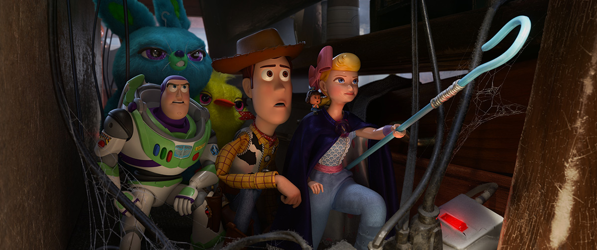 Pixar's CG dust bunnies in 'Toy Story 4' made the filmmakers sick (in a good way)