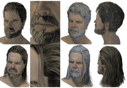 VR hair salon