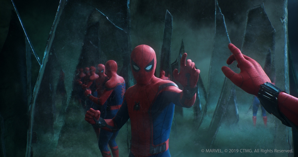 illusion battle in 'Spider-Man: Far From Home'