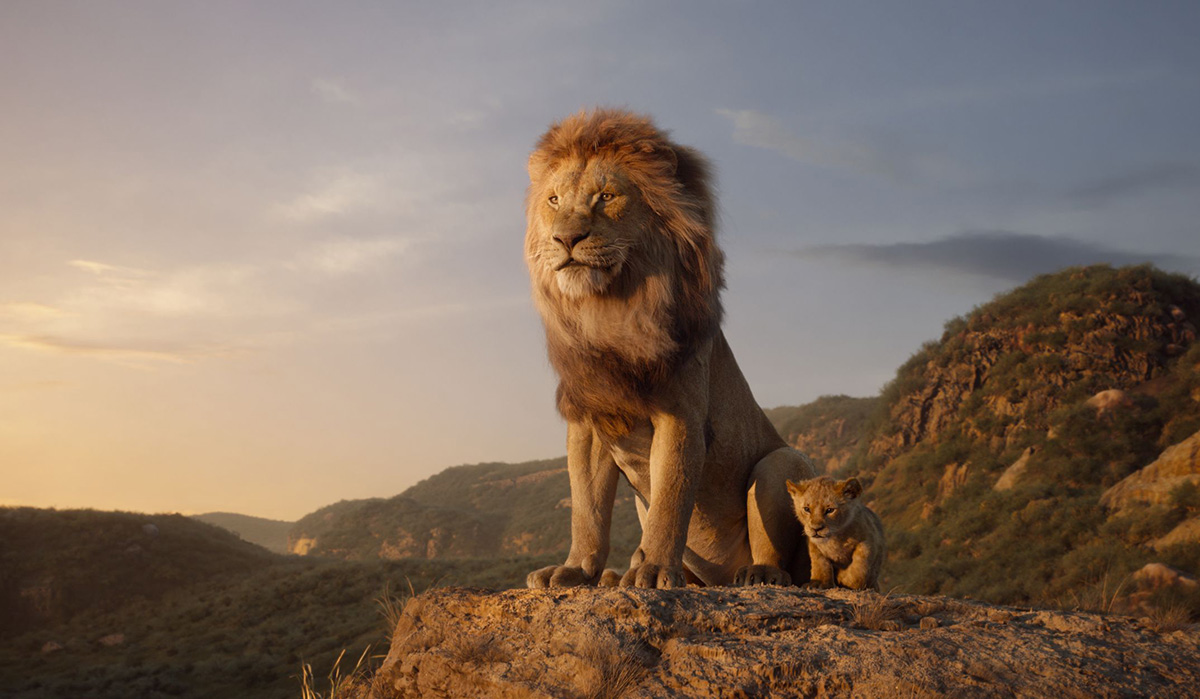 How 'The Lion King' filmmakers shot the 'Everything the light touches' scene