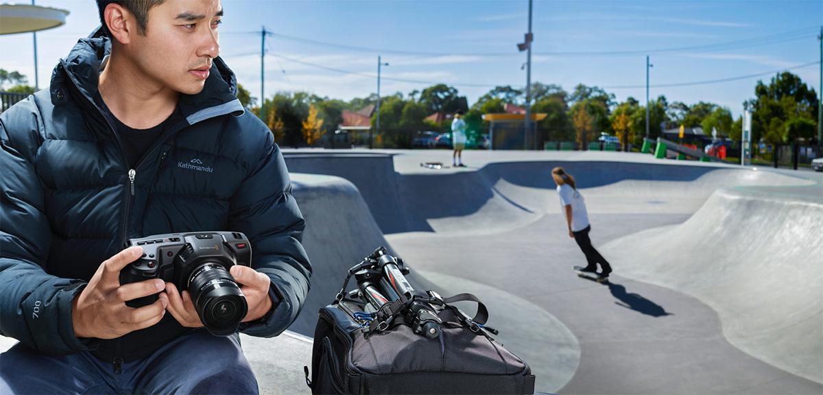 Find out the latest on Blackmagic's Pocket Cinema Camera 4K