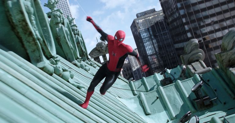 How ILM was able to draw upon previous New York VFX material for 'Far From Home's' web-swinging finale
