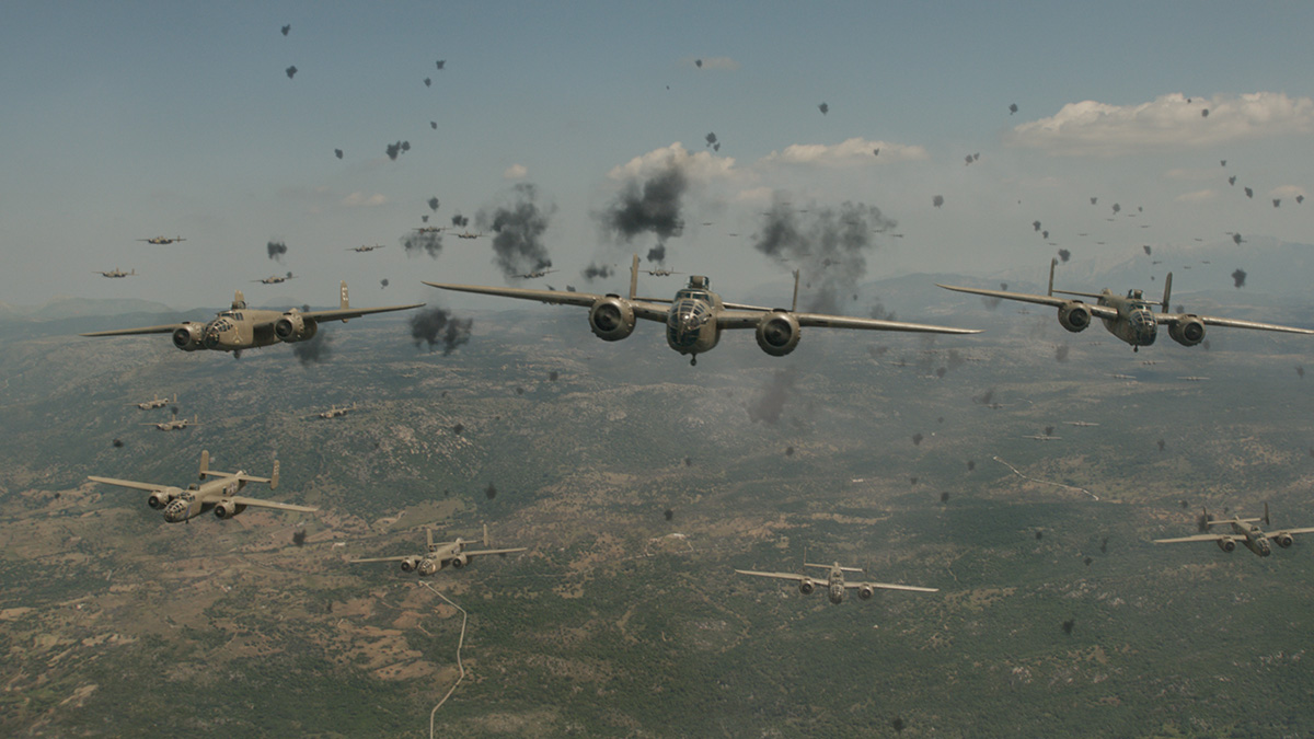 'Catch-22': the making of shot 127_1090