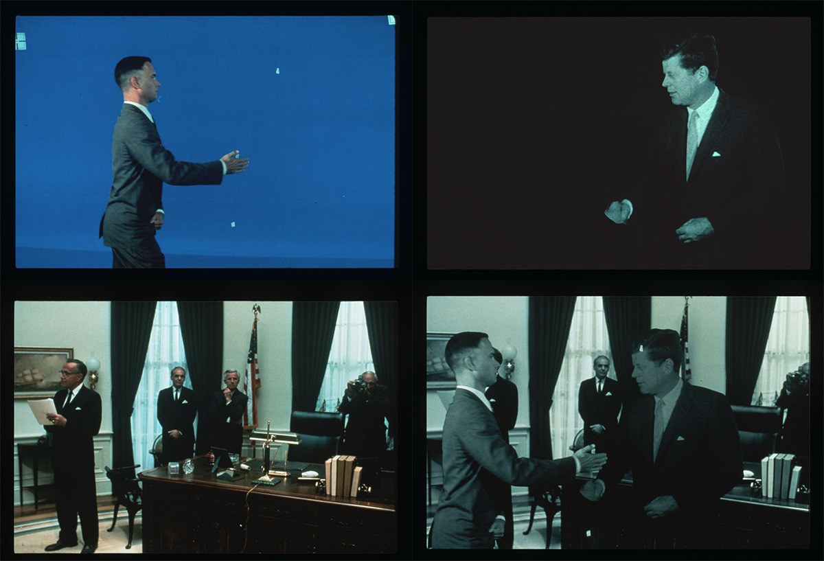 Forrest Gump meets JFK
