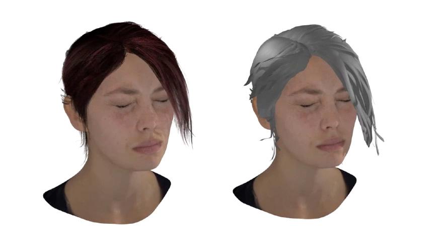 VR hair salon women
