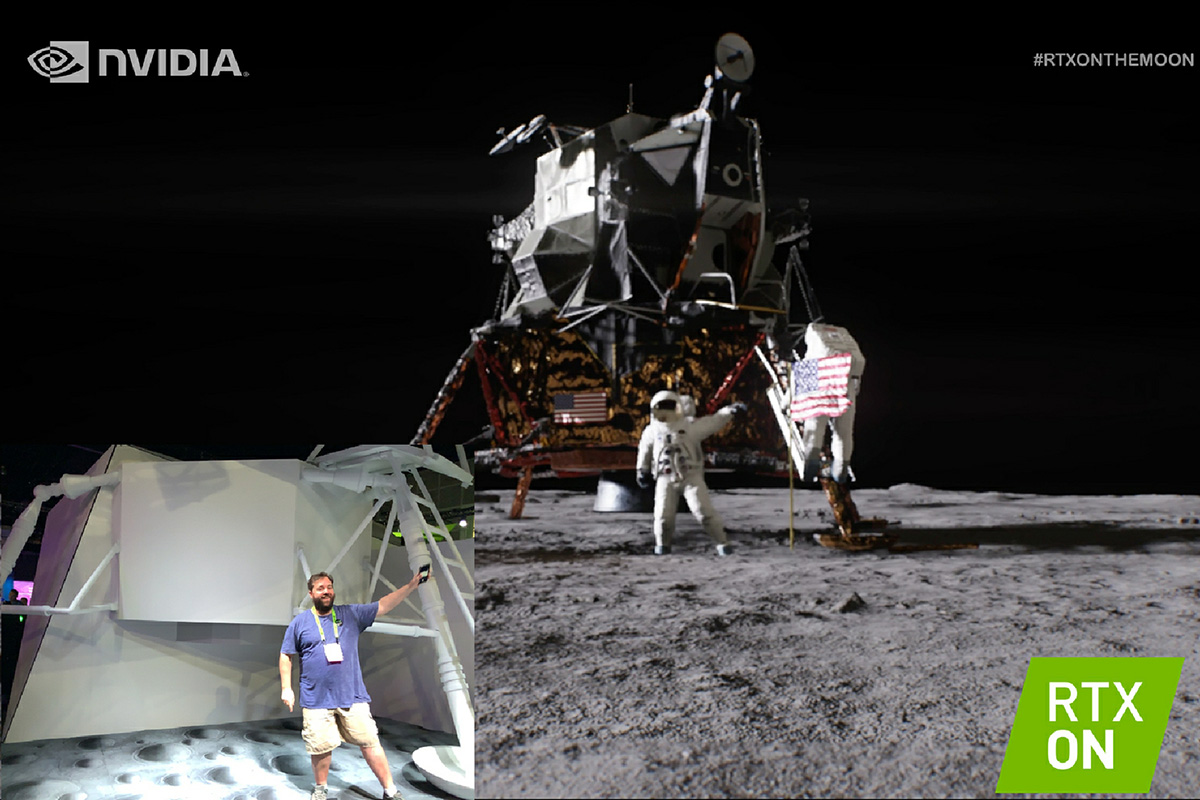 So, here's what happened: I totally went to the moon