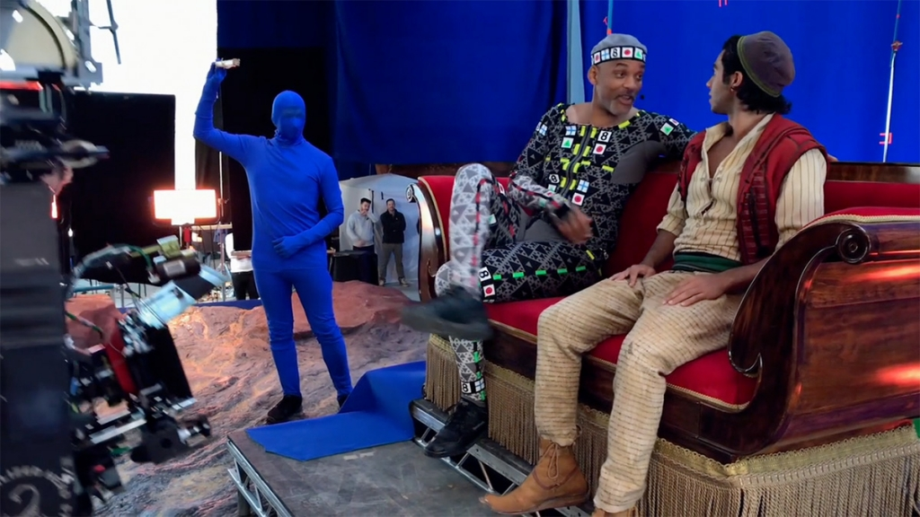 Aladdin behind the scene