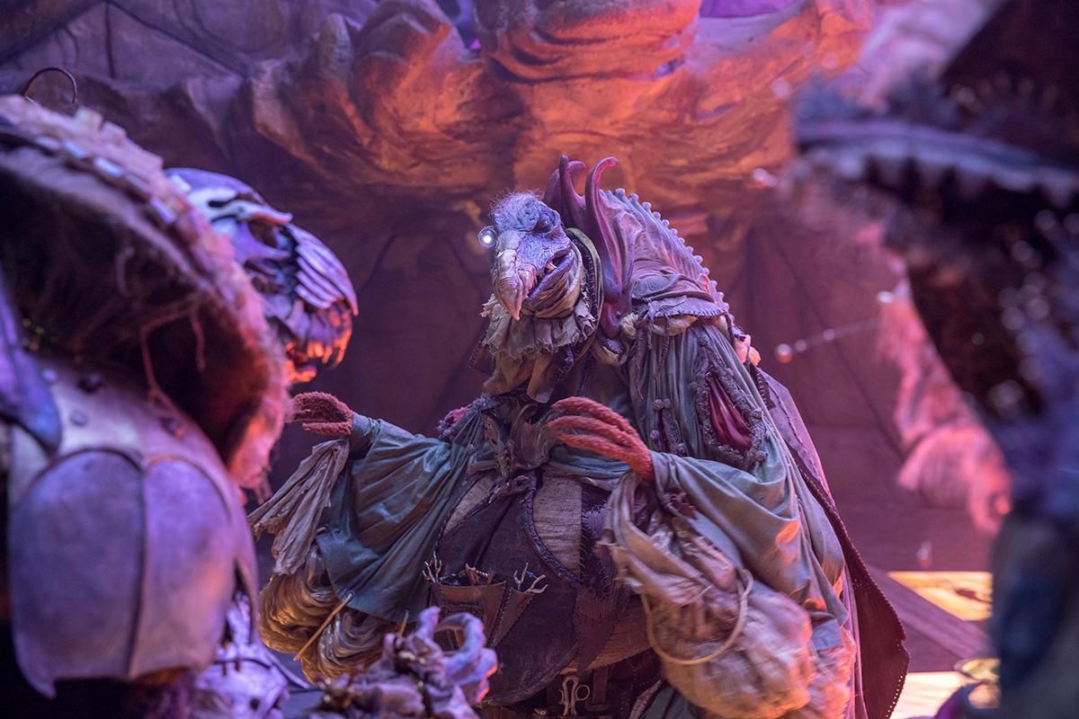 VFX scene from the movie