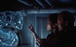 That time James Cameron gave ILM a day to come up with a test for 'The Abyss'