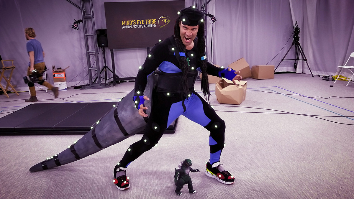 Life as a motion capture performer