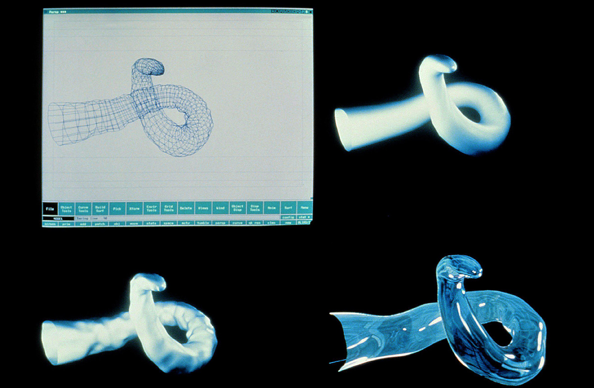 3d model of CG water tentacle