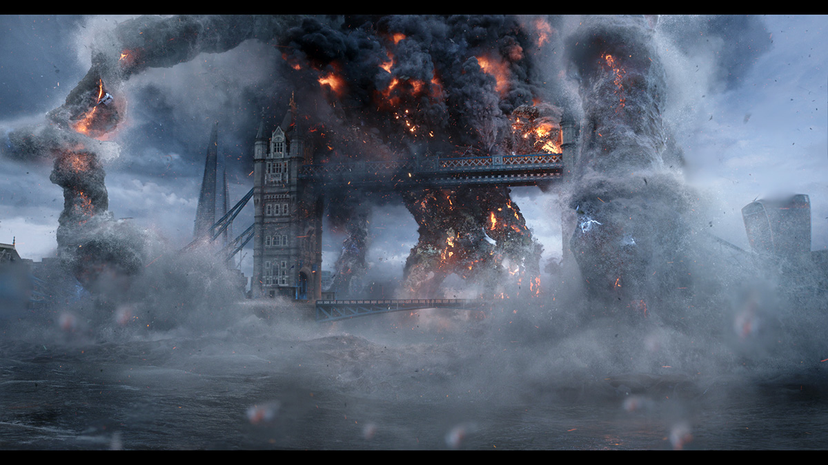 The large-scale effort to replicate London's Tower Bridge for 'Far From Home's' finale
