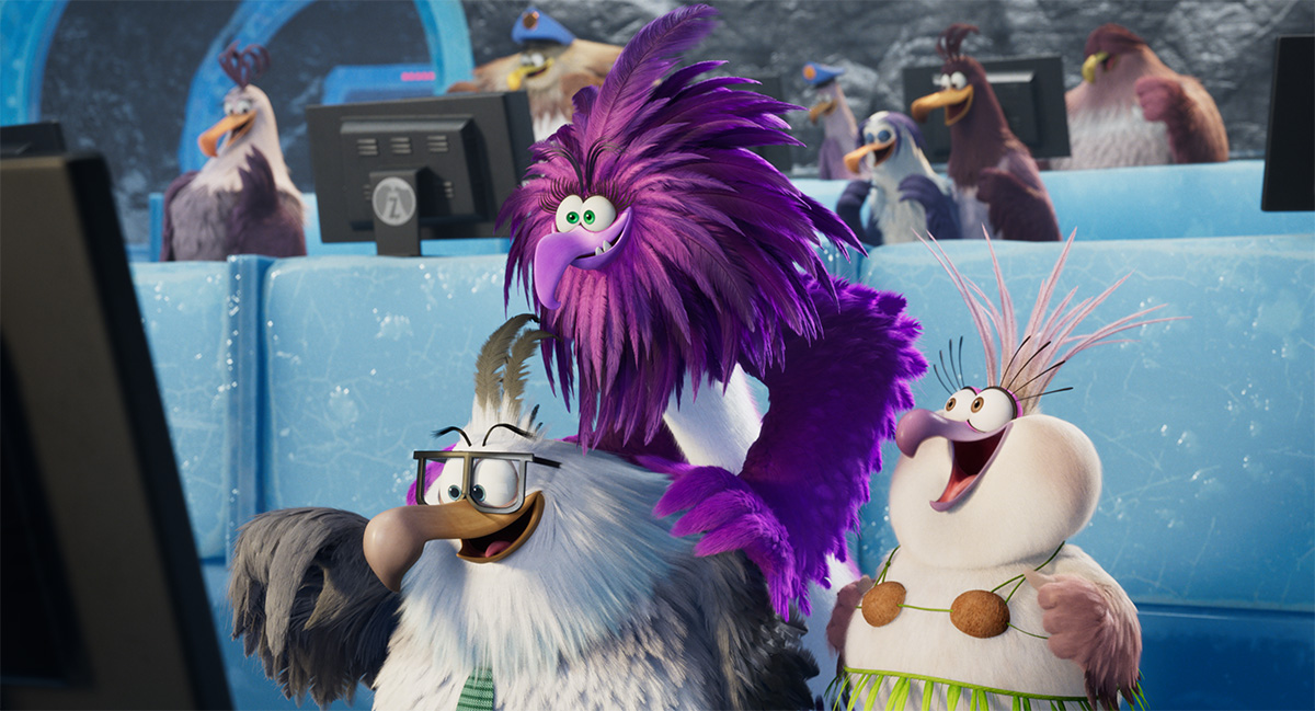 Feather Facts From The Angry Birds Movie 2 Befores Afters