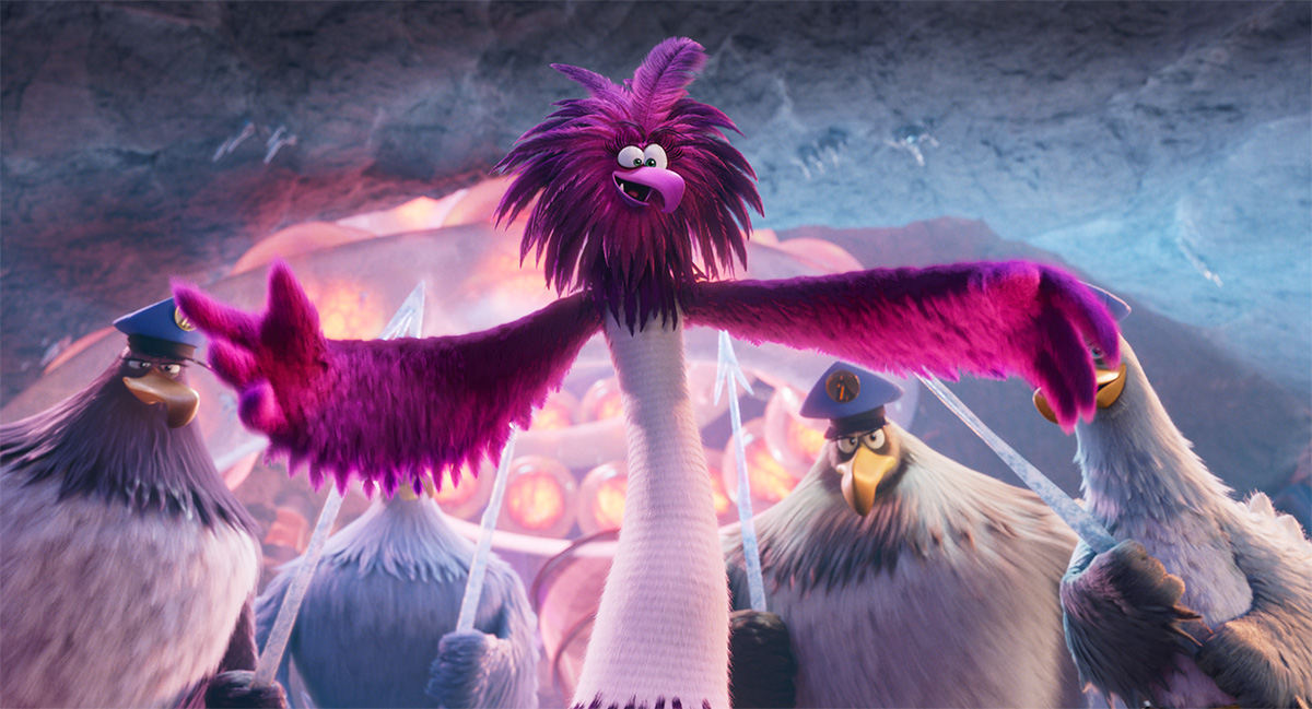 Feather facts from 'The Angry Birds Movie 2'