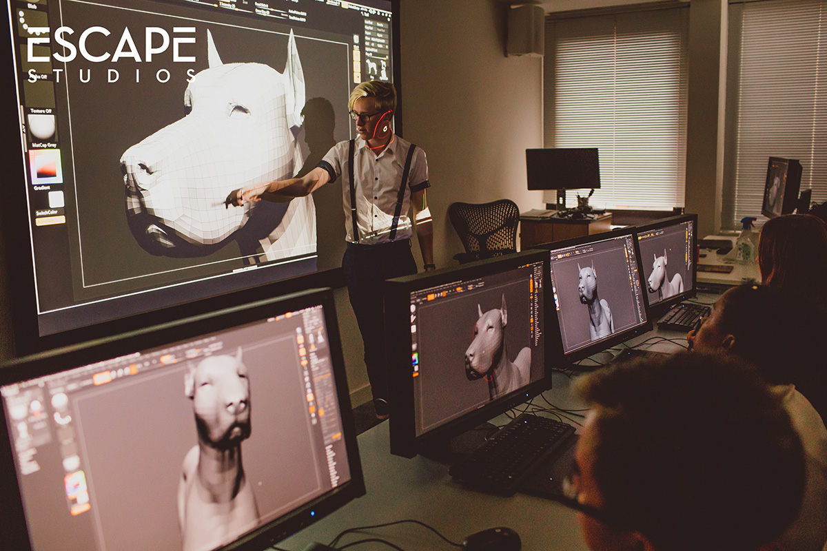 Escape Studios can help you get ready for a career in VFX, games or animation