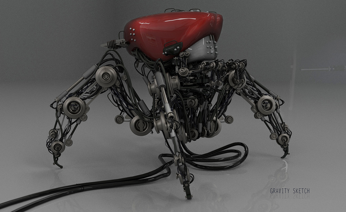 Advice from a freelance 3D artist: think big, right from the beginning