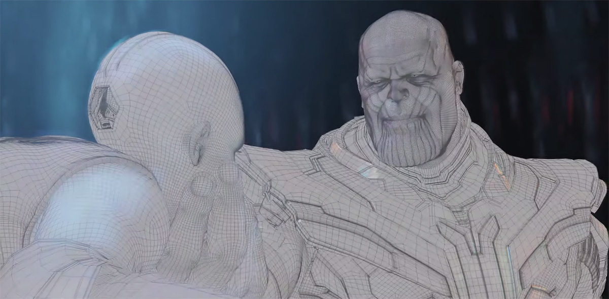 Watch a whole ton of official 'Avengers: Endgame' VFX breakdowns in one place