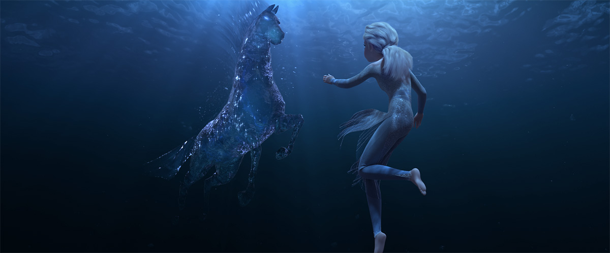 Tech preview: How Disney simulated that stunning water horse for 'Frozen 2'
