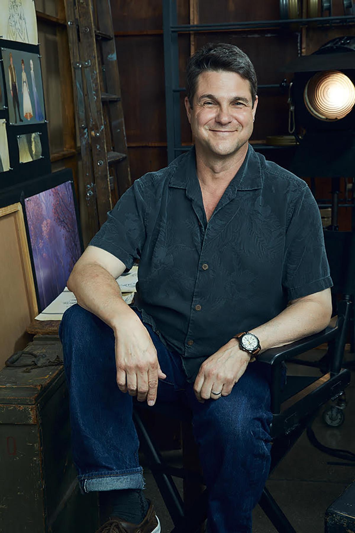Frozen 2 VFX supervisor Steve Goldberg.
