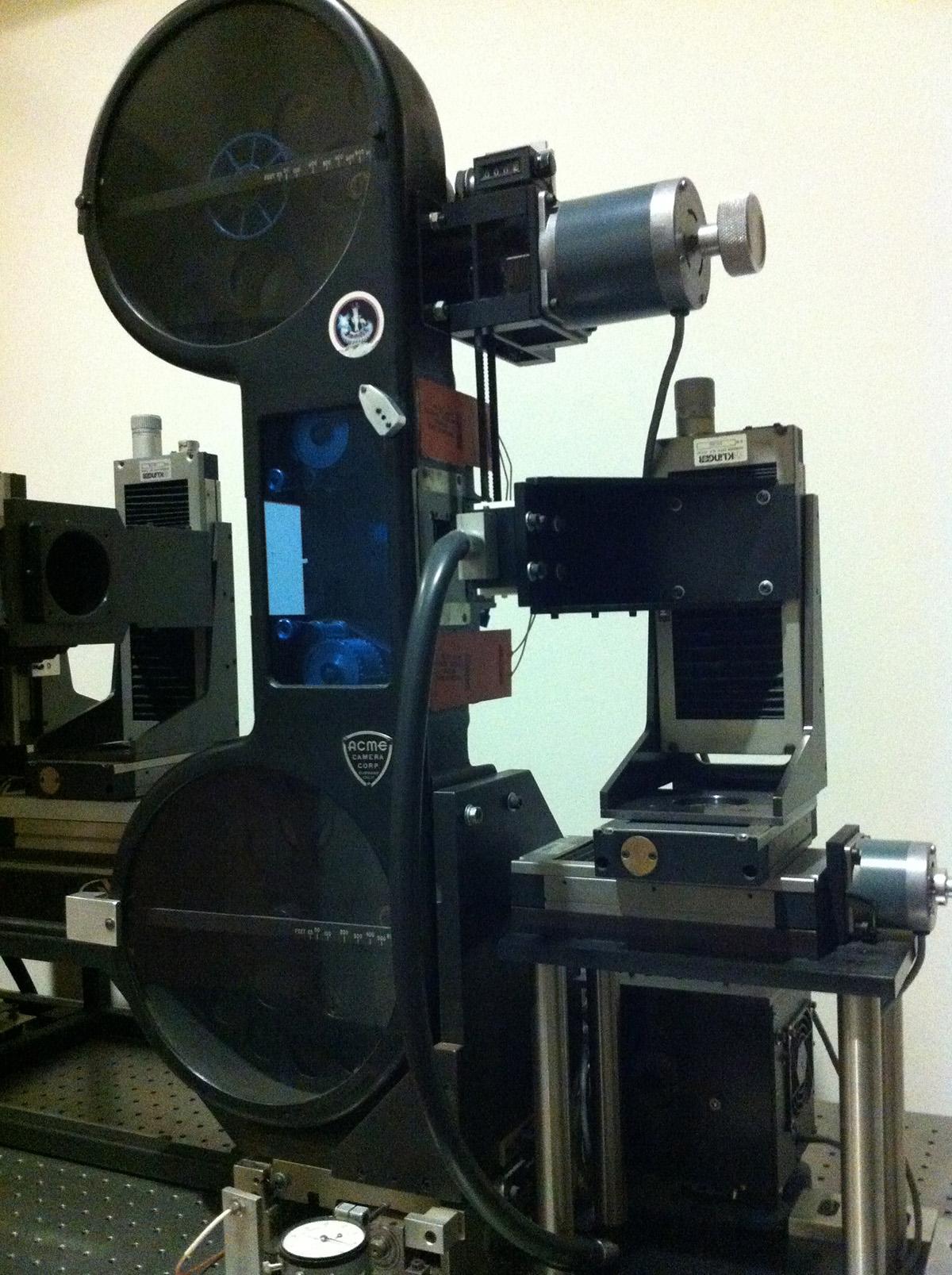 ILM's film scanner
