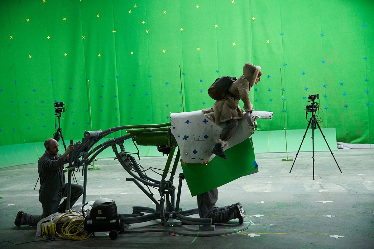 Some early behind the scenes from 'His Dark Materials'