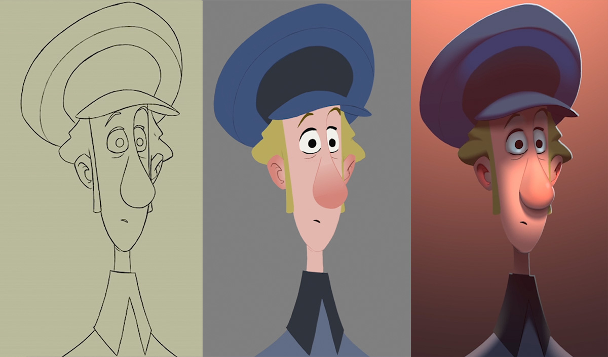 Here S What Made The 2d Animation In Klaus Look 3d Befores Afters
