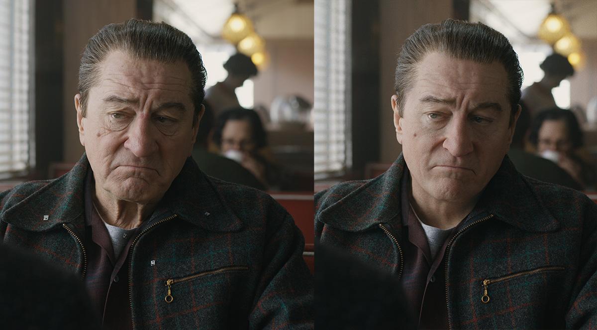 De-aging De Niro