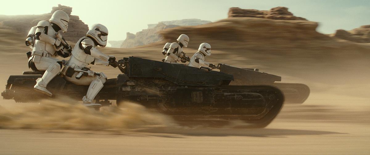 Rise of Skywalker speeder chase