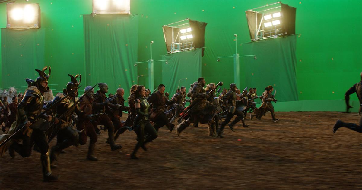 Endgame VFX shot