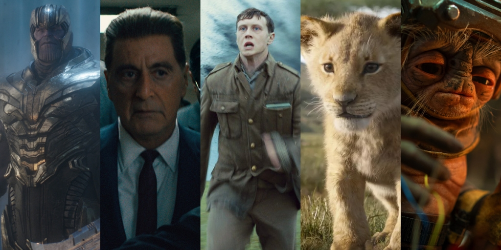 VFX Oscar nominations 2020